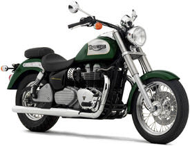 2005 Goodwood Green Triumph America