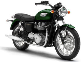 2005 Goodwood Green Triumph Bonneville