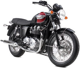2006 Triumph Bonneville T100 in Jet Black & Red