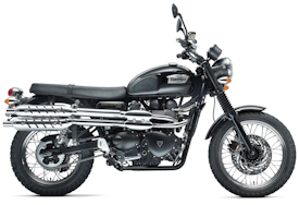 2011 Triumph Scrambler in Black