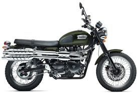 2011 Triumph Scrambler in Matt Khaki Green