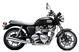 2012 Phantom Black Triumph Bonneville SE