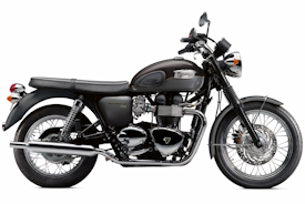 2012 Triumph Bonneville T100 in Graphite/Metallic Phantom Black